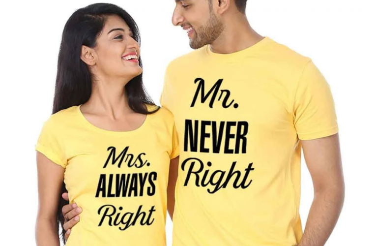 10 Types of Couple T-Shirts & How to Wear Them with Style