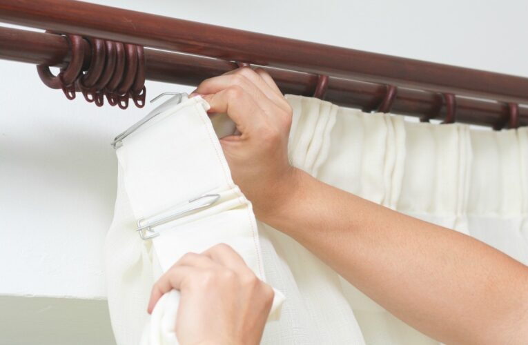 How to Install Curtains Or Blinds