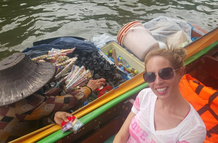 Rachelle Ginsberg reporting on a visit to Bangkok, Thailand.
