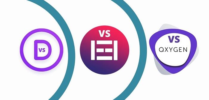 Best Website Builders: Elementor vs Divi vs Oxygen